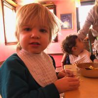 Waldorf toddler snack time