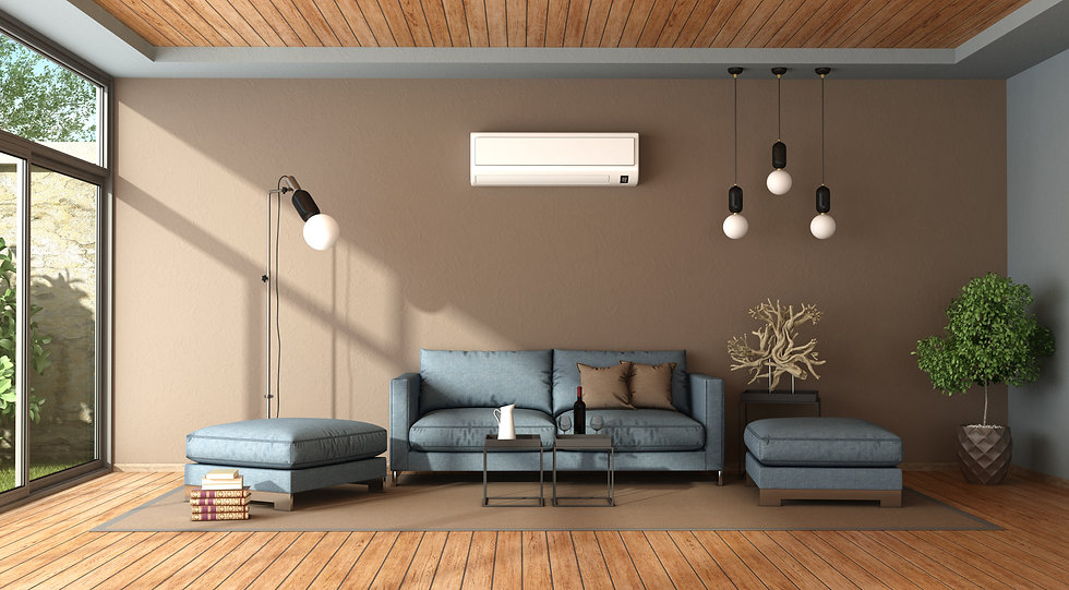 blue-and-brown-living-room-with-air-cond