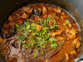 Lamb And Aubergine Curry By Tracey Ramseebaluck