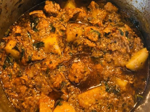 Shai's Mum's Beef And Potato Curry