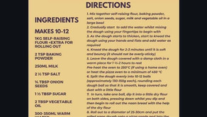 Dipna Anand Tandoori Naan Bread Recipe