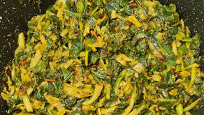 Spring Greens With Spices By Tracey Ramseebaluck