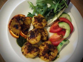 Spiced King Prawns By Dave Watson