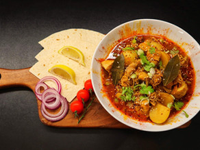 Kashmiri & Basaar Chicken And Potato By Anthony Dumble