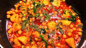 Spicy Chick Pea And Potato Curry