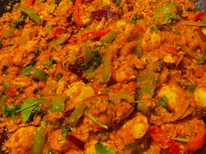 Midweek Curry.Chicken And Keema TCCHC Edition By Carlos Pepe