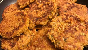 Courgette And Potato Fritters By Shams Razzak