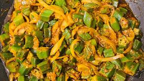 Bhindi Masala (Dry) By Shai Ayoub