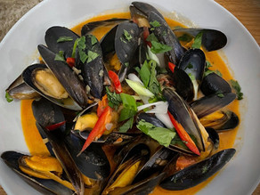 Spiced Mussels By Dave Watson