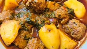 Mutton Kofta Curry With Aloo By Shams Razzak