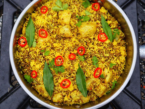 TCCHC Keema And Potato Rice By Anthony Dumble