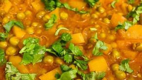 Aloo (Potato) Mattar (Green Peas) By Shai Ayoub