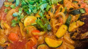 Courgette Curry By Shai Ayoub