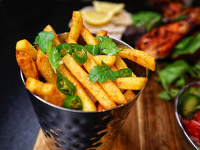 Chilli Coriander Spicy Fries By Anthony Dumble