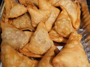 Crispy Veg Punjabi Samosa By Robert Wintle