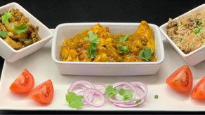 Easy Chicken Curry, Bombay Potato and Rice By Anthony Dumble