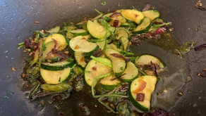 Courgette in Garlic And Chilli By Shai Ayoub