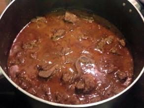 Kerala Style Hot Lamb Curry