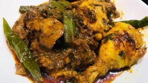 Chicken,Chicken Liver And Okra Curry By Shams Razzak