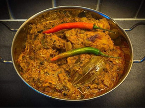 Hot Chicken Thigh Curry By Greg Crawford