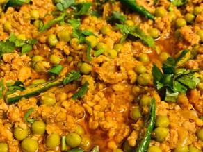 Keema(Mince)Mattar(Green Peas) By Shai Ayoub