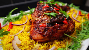 Tandoori Chicken WithLemon And Garlic Rice By Anthony Dumble