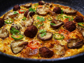 Kofta & Shiitake Mushroom Omelette By Anthony Dumble
