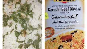 Karachi Beef Biryani Using Ready made Packet Masala By Robert Wintle