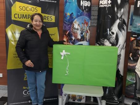 Felicitaciones Adriana Ferreyra por ser ganadora del 3er sorteo de Socios Cumplidores.