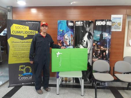¡Felicitaciones Diego Óscar Solís! A disfrutar de tu SmartTV.