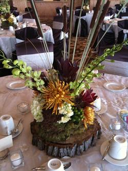 Autumn Wedding Centerpiece