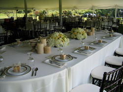 Summer Reception arrangements
