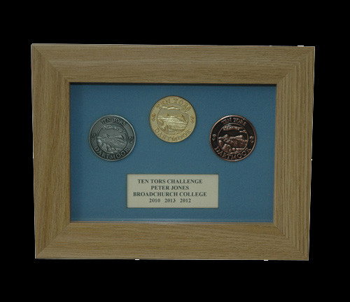Ten Tors 3 Medal Display Frame