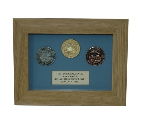 3 Medal Display