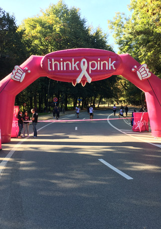 """Think Pink's """"Race for the Cure"""""""