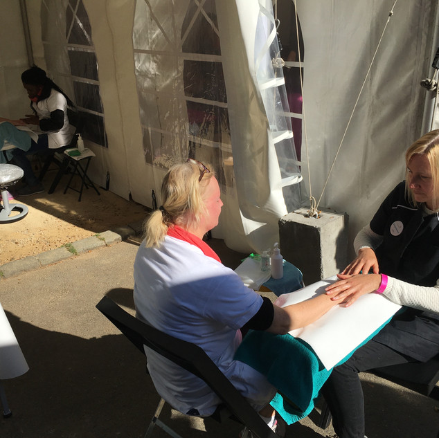 vzw Zorgmassage @ Race for the Cure 2018