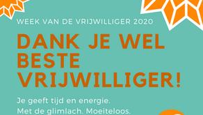 Week van de Vrijwilliger 2020!