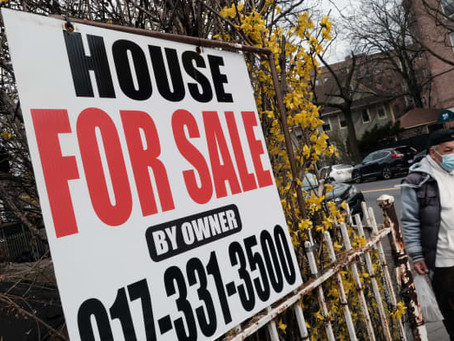 Sales of existing homes rise slightly as more listings finally hit the market!