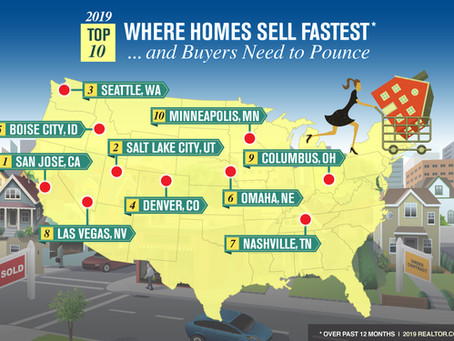 Spring Housing Slowdown? No Way! Here's Where Homes Are Flying Off the Market!