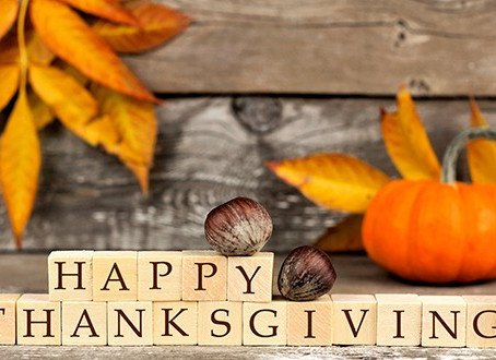 Happy Thanksgiving, From Our Family to Yours!