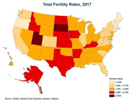 Record Low Birth Rates Suppress Housing Demand