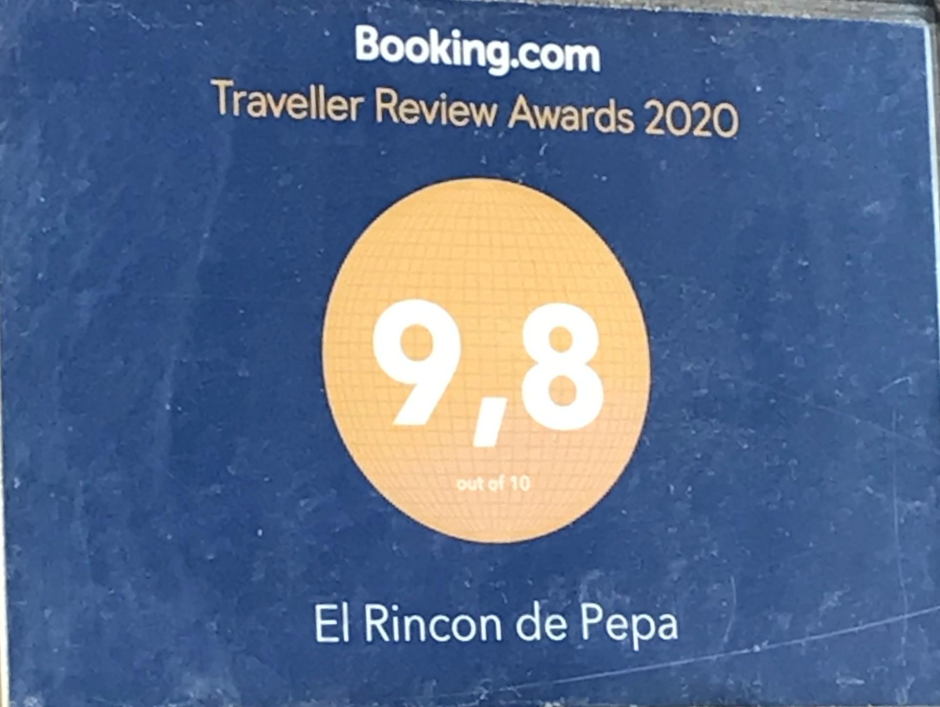 9,8 Puntuación Booking