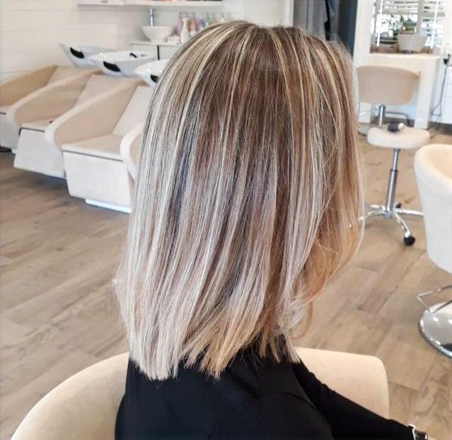 Balayage Blond Polaire