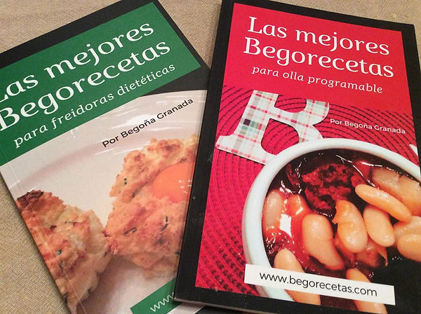 Libros de recetas para ollas GM, cecofry y Turbo Cecofry 4D