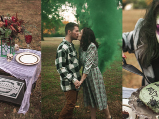 Beetlejuice-Inspired Mini-Styled Shoot