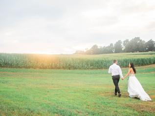 Wynn and Eric's Rustic August Wedding | Julia Bruns Photography