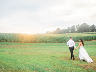 Wynn and Eric's Rustic August Wedding | Julia Bruns Photography