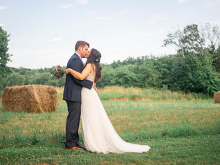 Alex & Vince's Wedding at Meyer's Bakery and Farm | Pennsylvania Wedding Photographer