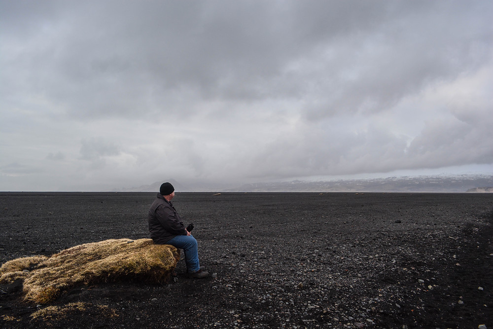 Taking a break in desolation