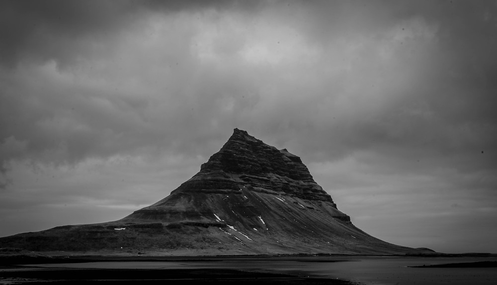 The striking Kirkjufell.